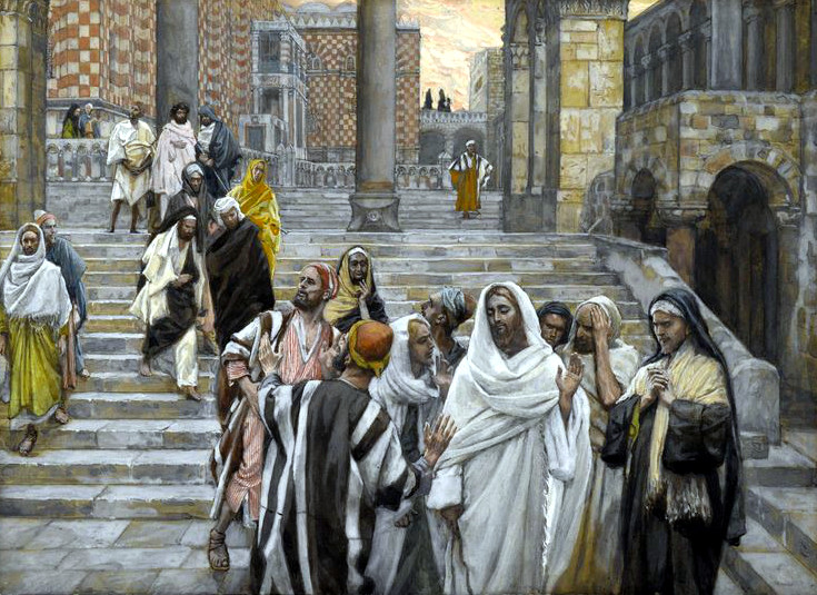 Jesus Temple Luke 21